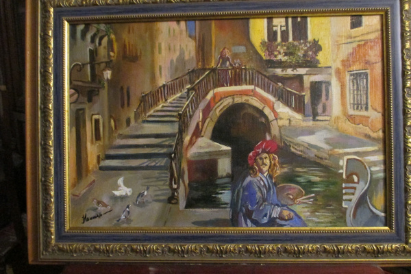 Nina Anatolyevna Vinogradova. The artist in Venice