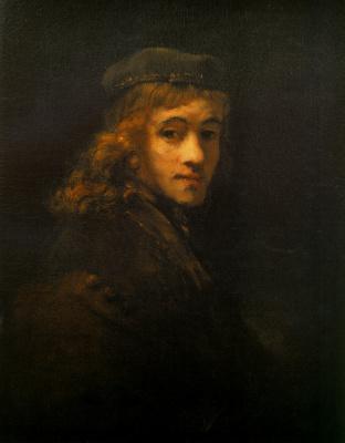 Rembrandt Harmenszoon van Rijn. Portrait of Titus van Rijn