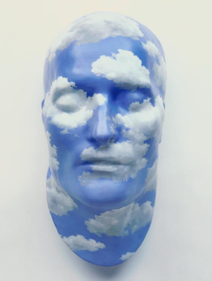 René Magritte. The future of statues