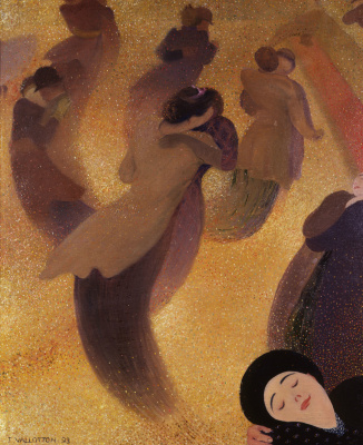 Felix Vallotton. Waltz