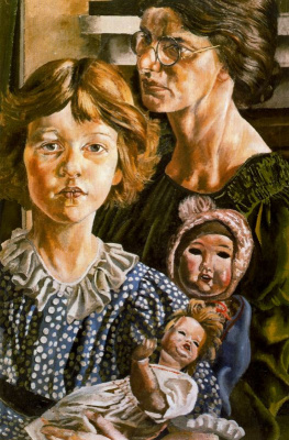 Stanley Spencer. Woman with a girl