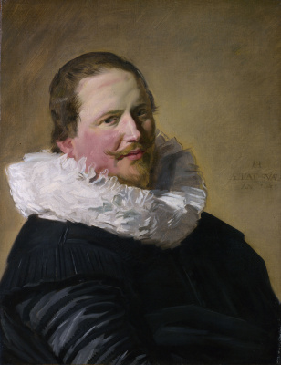 Frans Hals. Portrait of a man in his thirties
