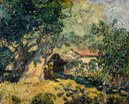 Луи Вальта. Хижина в лесу