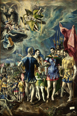 Domenico Theotokopoulos (El Greco). The martyrdom of St. Mauritius and the Theban Legion