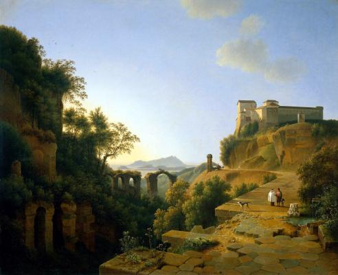 Йозефус Книп. Итальянский пейзаж