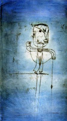 Paul Klee. Fisherman
