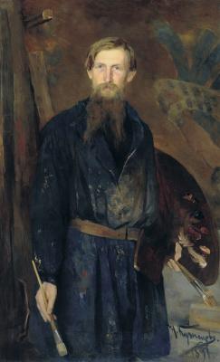 Николай Дмитриевич Кузнецов. Портрет художника Виктора Михайловича Васнецова