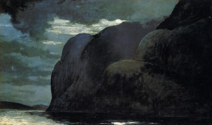 Winslow Homer. Cape Trinity. The Saguenay River