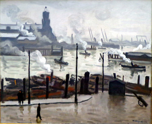 Albert Marquet. In Hamburg