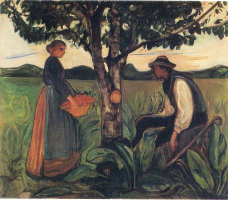 Edvard Munch. Fertility