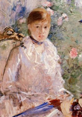 Берта Моризо. Портрет молодой девушки