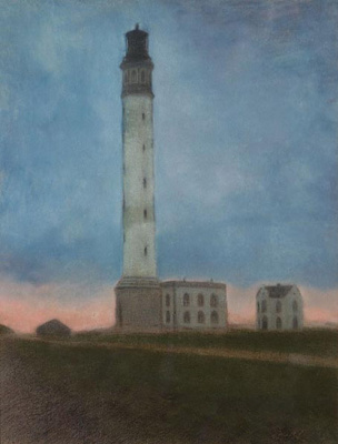 Леон Спиллиарт. Le 'nouveau' phare au lever du soleil, 1909 Offra Gallery, Belgium