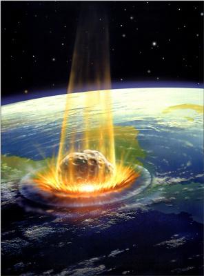 Дэвид Харди. Удар астероида