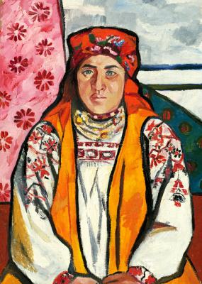 Natalia Goncharova. Tula peasant