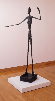 Alberto Giacometti. Pointing man