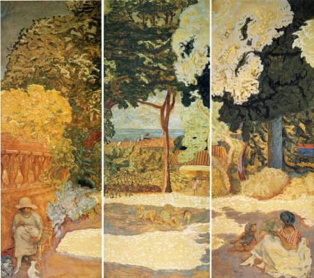 """Triptych """"Mediterranean sea"""""""