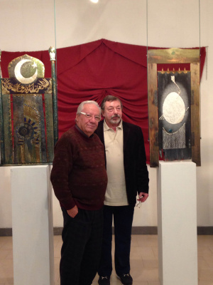 Evgeny Mikhailovich haylov. The opening of the exhibition in the Vatican