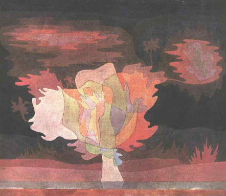 Paul Klee. Before the snow