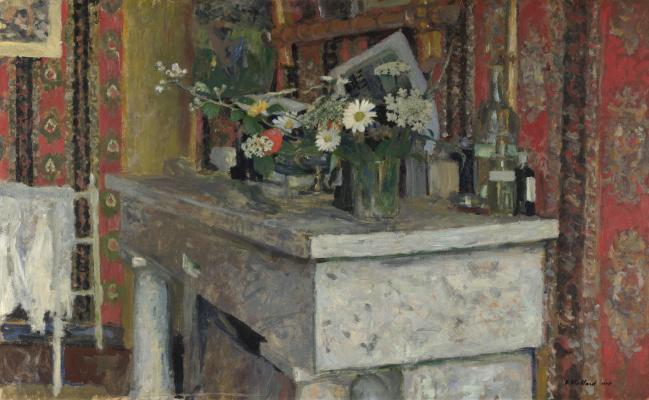 Jean Edouard Vuillard. Mantel