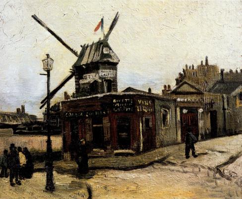 """Vincent van Gogh. """"Moulin de La Galette"""" (option)"""