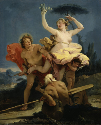 Джованни Баттиста Тьеполо. Apollo and Daphne