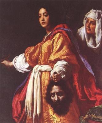 Кристофано Аллори. Юдифь и Олоферн, Кристофано Аллори, 1613