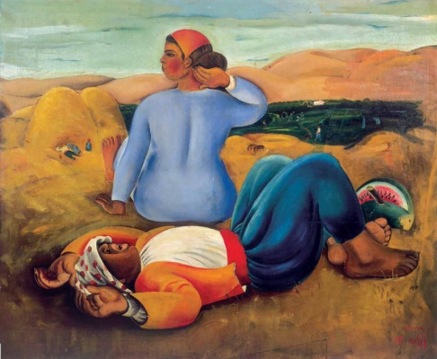 Нахум Гутман. Послеобеденный сон