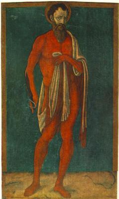 Маттео ди Джованни. Апостол Святой Варфоломей