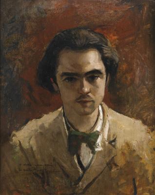 Frédéric Bazille. Portrait Of Paul Verlaine