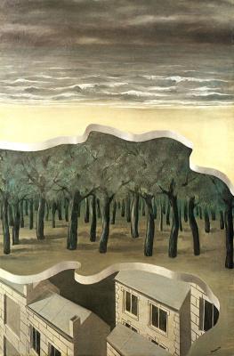 René Magritte. Popular panorama