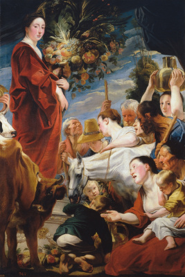 Jacob Jordaens. Worship of Ceres
