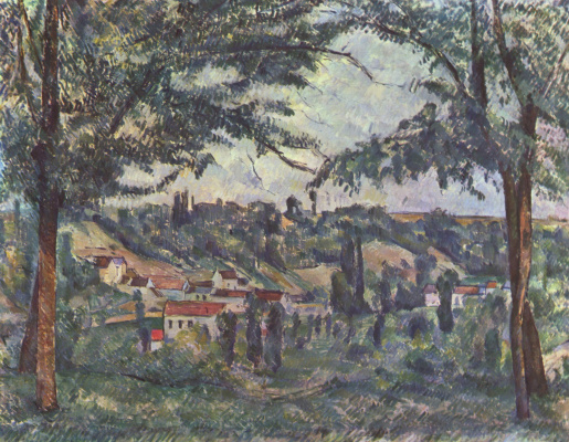 Paul Cezanne. Landscape