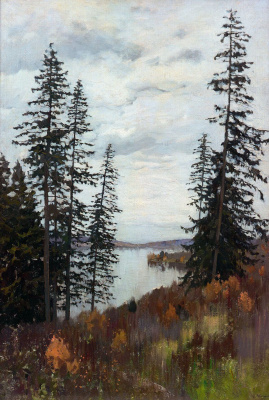 Isaac Levitan. In the north