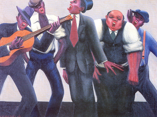 Archibald John John Motel. Jazz singers