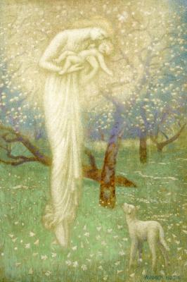 Arthur Hughes. Lamb