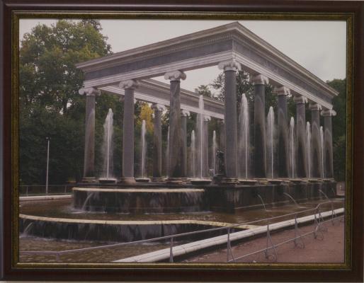 K. Grechuk. Peterhof. Lion cascade.