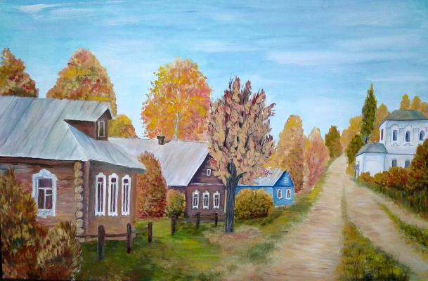 Julia Sergeevna Bochkareva. In the village