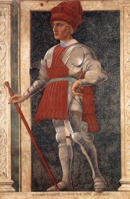 Андреа дель Кастаньо. Знаменитые персоны. Фарината Уберти