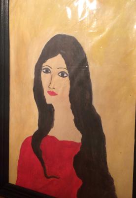 Arne Kelmfatus. Gypsy girl