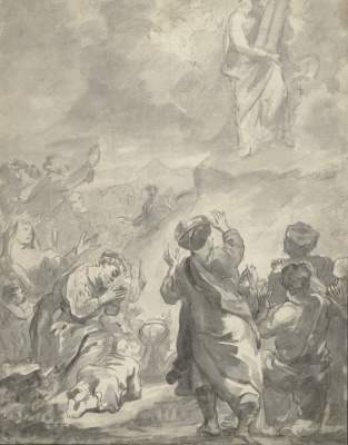 Фердинанд Балтасарс Боль. Моисей со скрижалями закона
