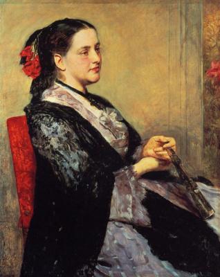 Mary Cassatt. Portrait of a lady of Seville