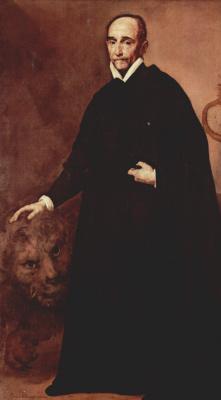 Jose de Ribera. Portrait of a Jesuit missionary