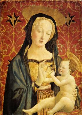 Доменико Венециано. Мадонна с Младенцем