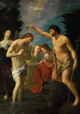 Guido Reni. The Baptism Of Christ