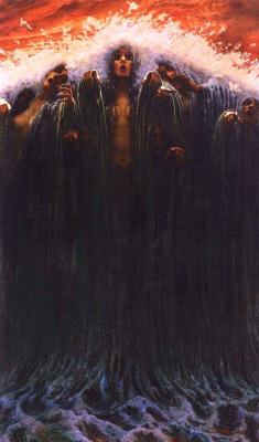 Carlos Schwabe. La Vague (The Wave)