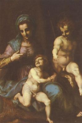 Андреа дель Сарто. Мадонна со св. Иоанном