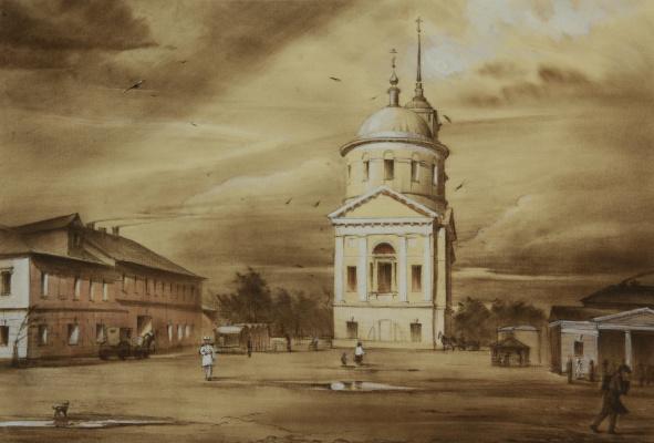 Андрей Ноаров. Площадь в Торжке