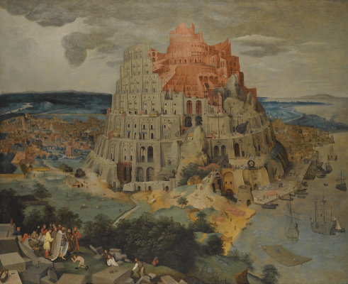 Peter Brueghel The Younger. The tower of Babel