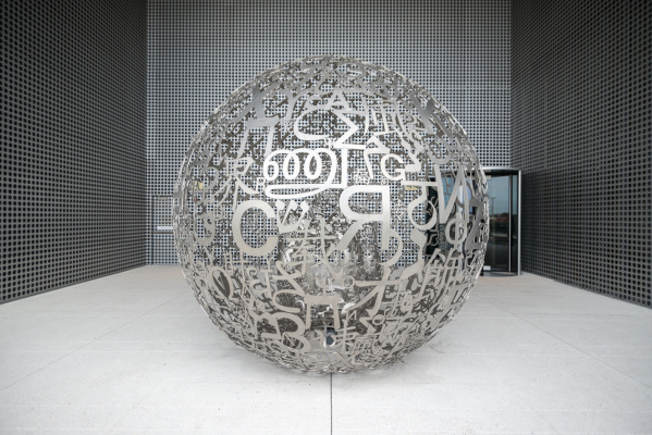 Jaume Plensa. Self-portrait