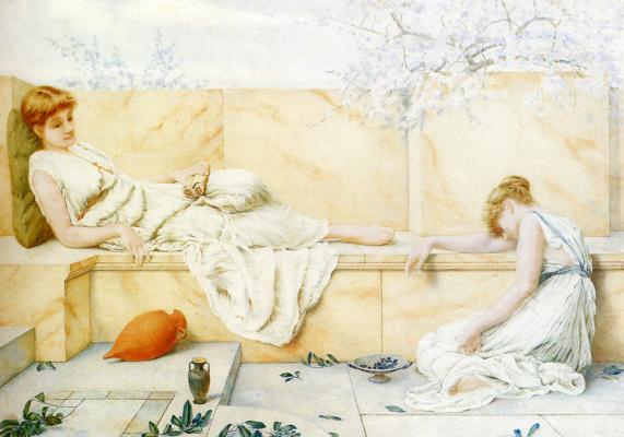 Генри Райленд. Девушки на балконе